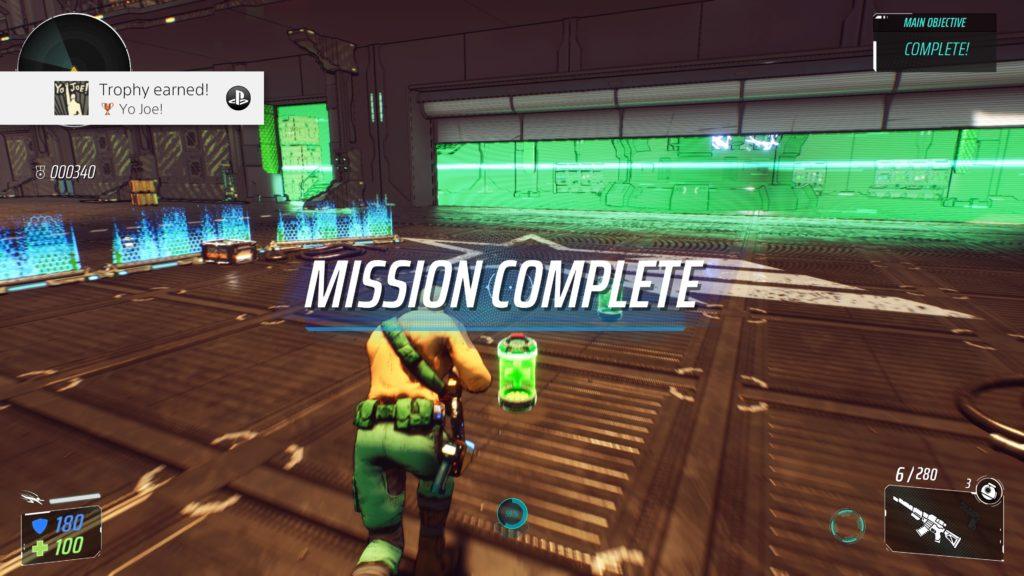 G.I. JOE: Operation Blackout Mission Complete