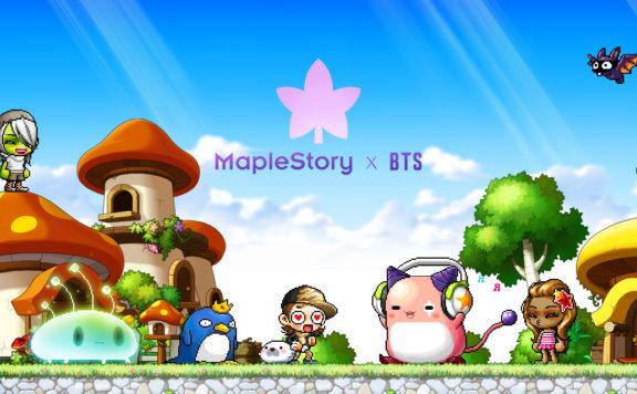 BTS x MapleStory