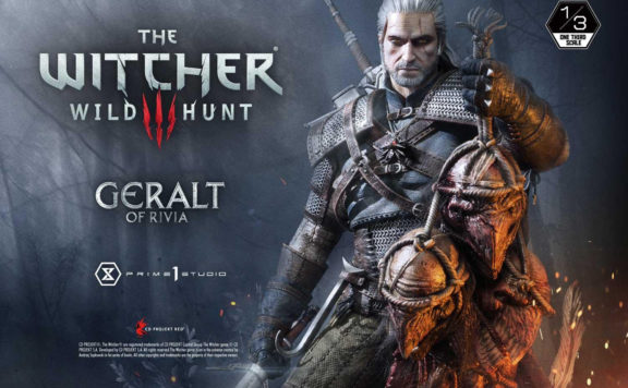 New Geralt Statue is Here To Raid Your Wallet