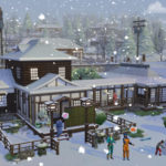 What Can you find in The Sims 4 Snowy Escape Expansion
