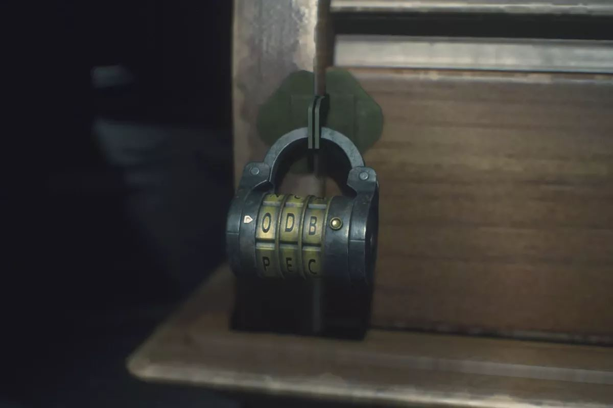 Many of the puzzles inside Asylum were similar to those found in Resident Evil. Several of these involved finding the codes to a variety of locks.