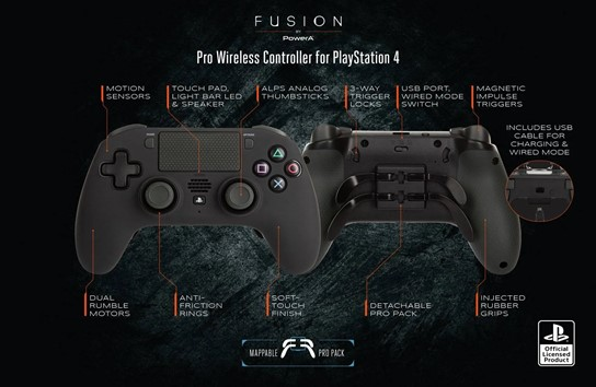 fusion pro wireless overview