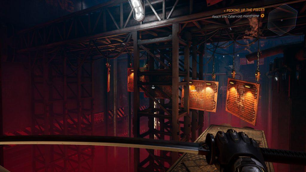 ghostrunner level screenshot