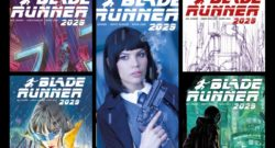 Blade Runner 2029 Issue 1 Collage