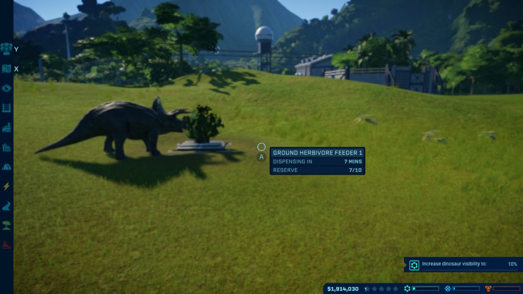 Jurassic World Evolution - Feed Me