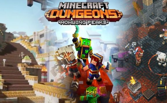 Minecraft Dungeons Howling Peaks – Official Launch Trailer