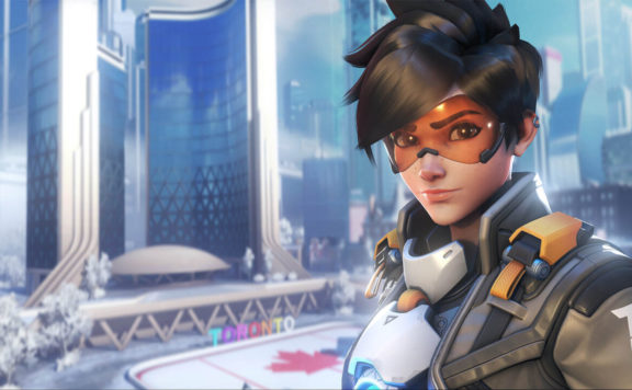 Overwatch Releases Tracer London Calling Issue 3