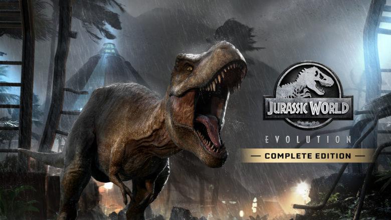 Jurassic World Evolution Complete Edition Switch Banner