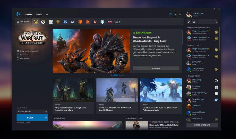 Blizzard Showed Off New Design of Battle.Net App