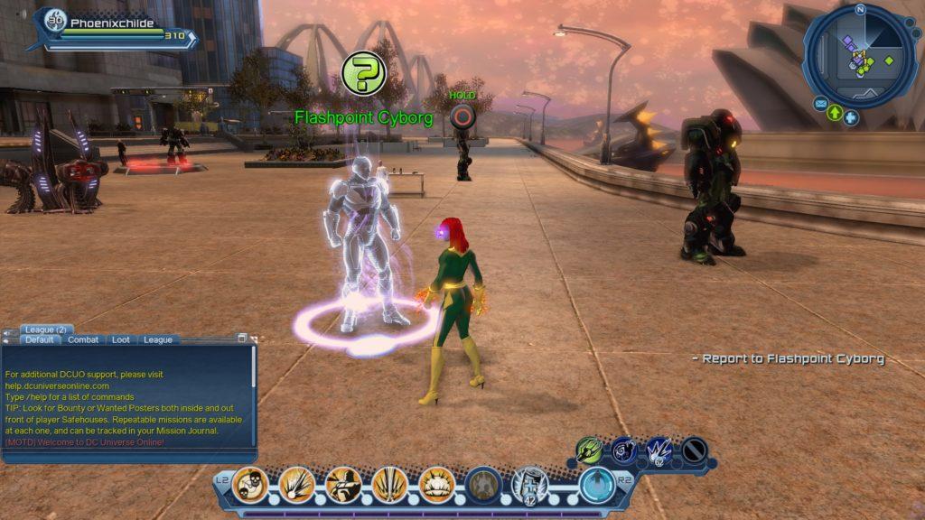 DC Universe Online Flashpoint Cyborg