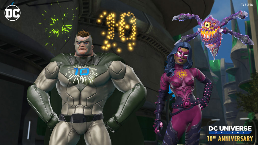 DCUO 10th Year Gifts