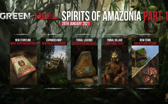 Green Hell - Spirits of Amazonia Part One Release Date Revealed