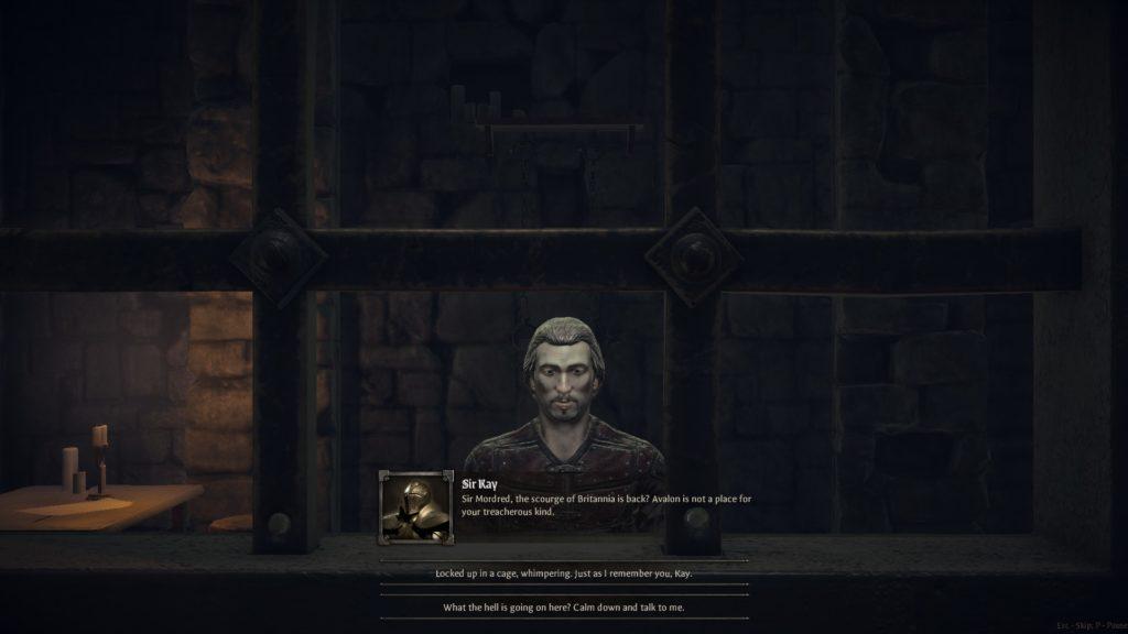King Arthur: Knight's Tale Sir Kay