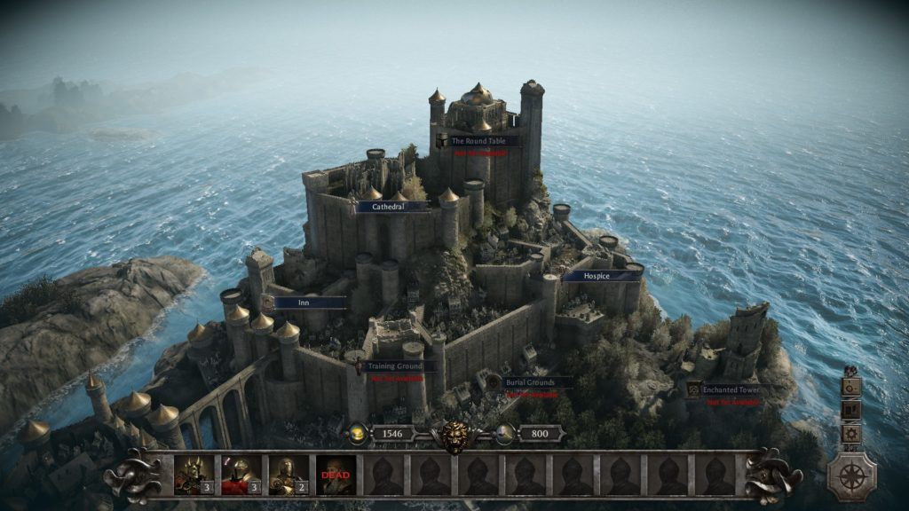 King Arthur: Knight's Tale Camelot