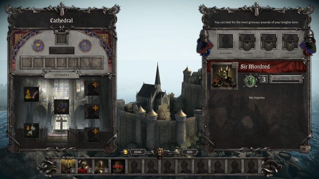 King Arthur: Knight's Tale Upgrades
