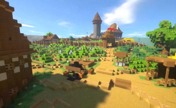 Kingdom Come Deliverance - Minecraft Remake Trailer