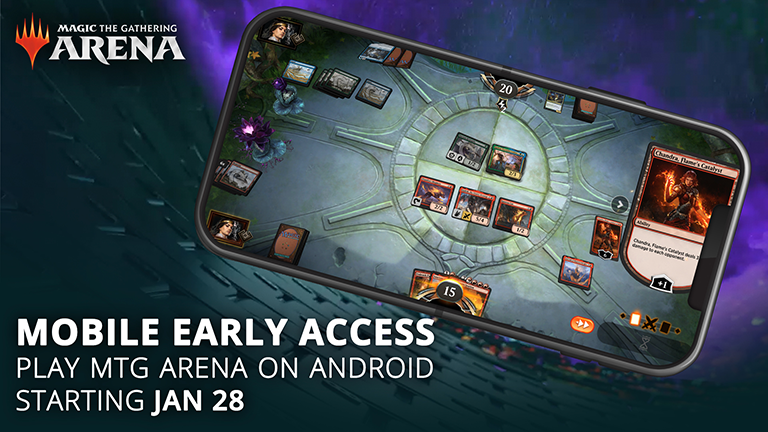 Magic The Gathering Arena Is Coming to Android on January 28