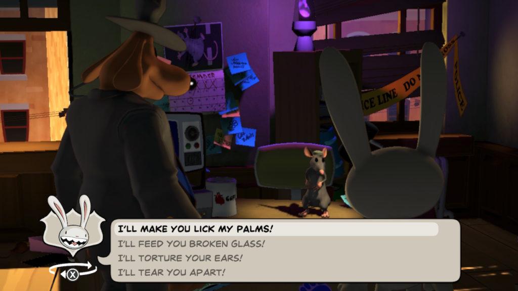 Sam & Max Dialogue