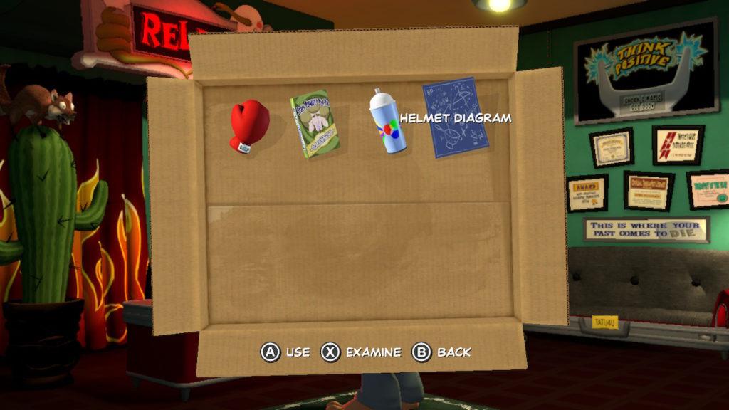 Sam & Max Inventory