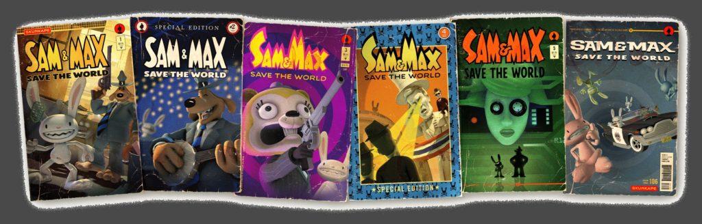Sam & Max Save The World Episode Art