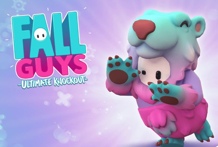 Fall Guys Prime Slushie Bear costume