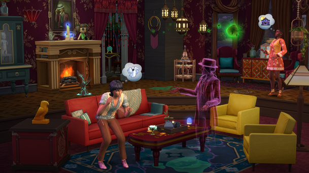 The Sims 4 Reveals Paranormal Stuff Pack