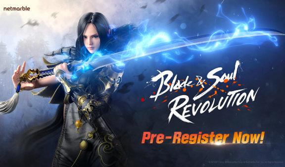blade & Soul pre-registration