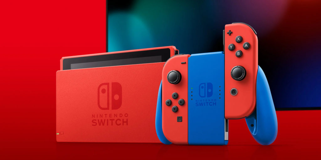 red and blue switch