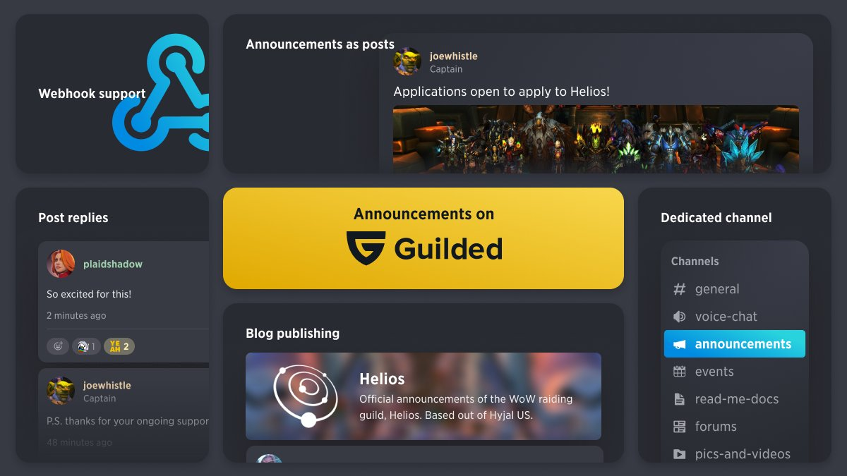 Guilded Announcements