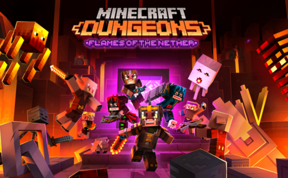 Minecraft Dungeons - Flames of the Nether DLC Coming February 24