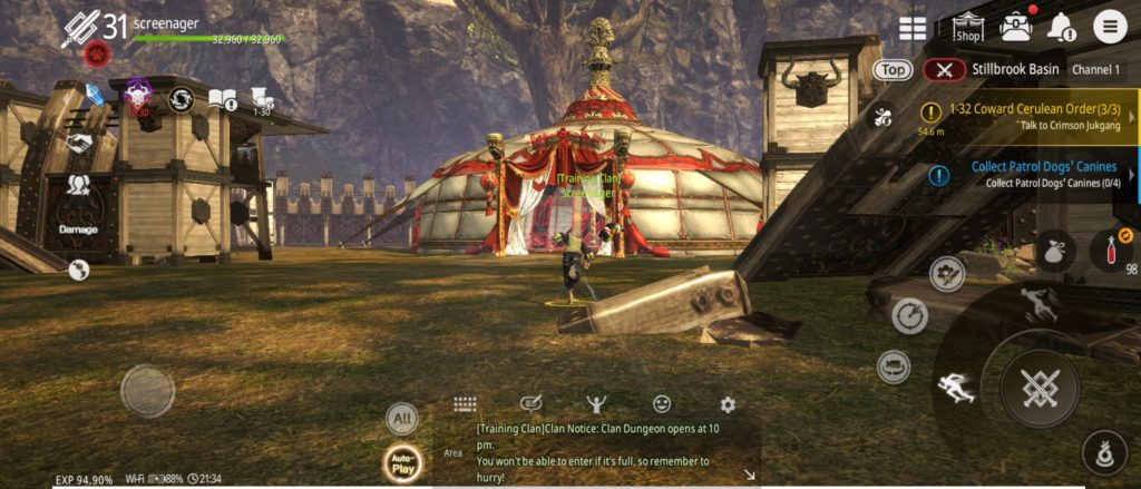 blade and soul preview faction war