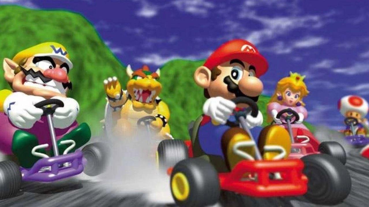 MarioKart 64 Gaming History