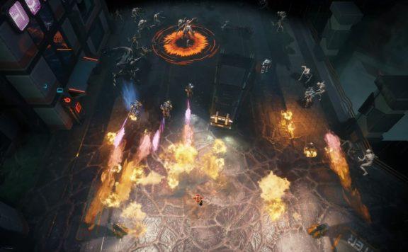 solstice 2: survivors mission shooting down enemy invaders