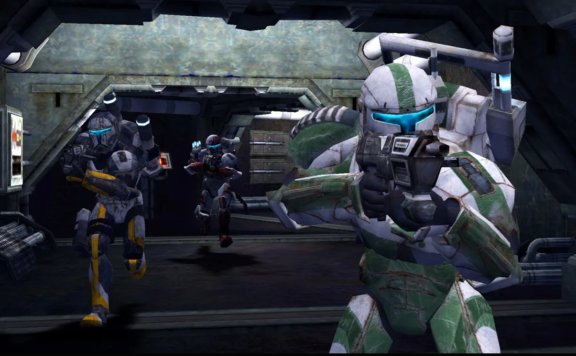 star wars republic commando screenshot of troopers