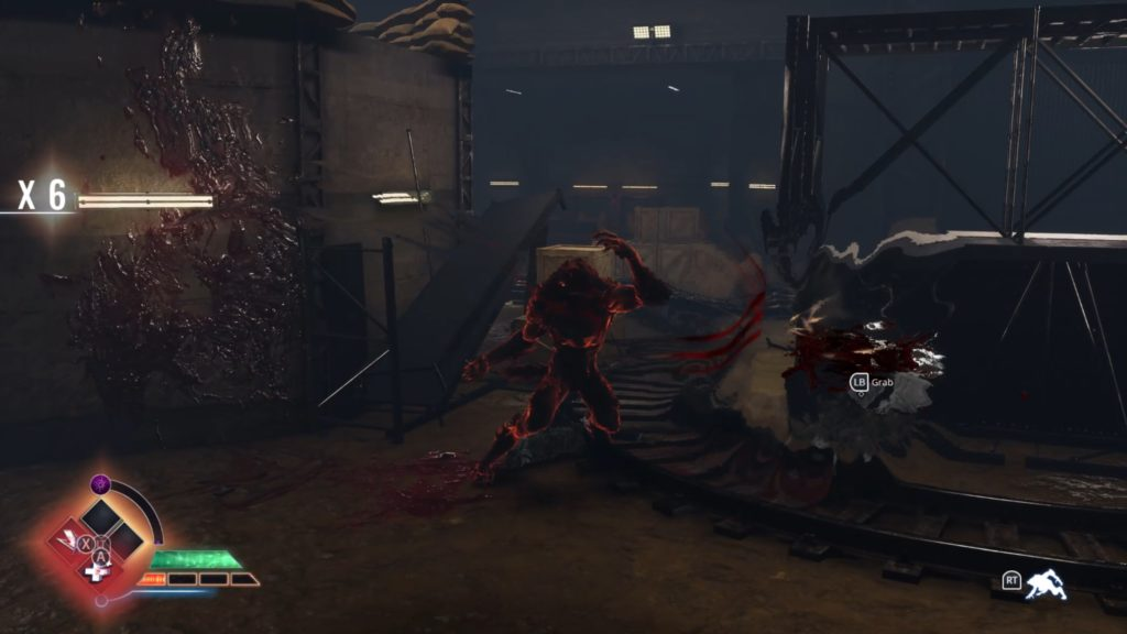 werewolf combat screenshot