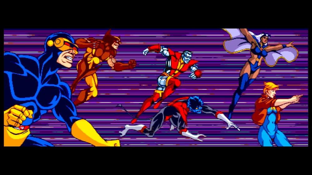 X-Men Gaming History