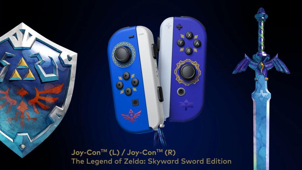zelda themed joy-cons