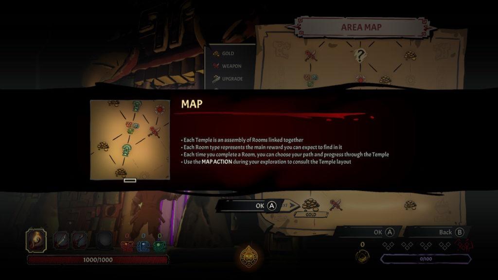 Curse Of The Dead Gods Temple Map