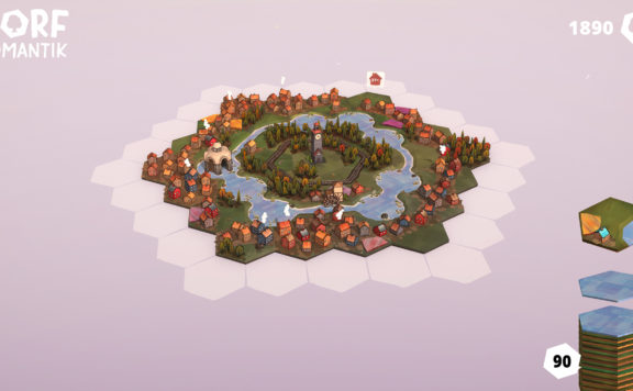 Dorfromantik - A Relaxing Strategy Now in Steam Early Access
