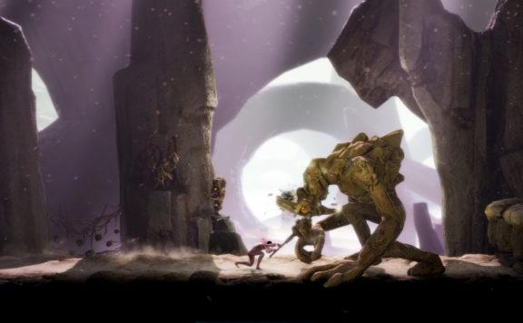 Grime Bossfight Screenshot
