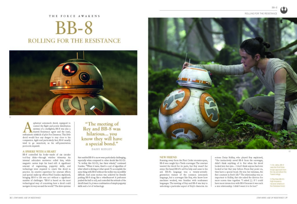 Star Wars - The Age Of Resistance Book Spread 3