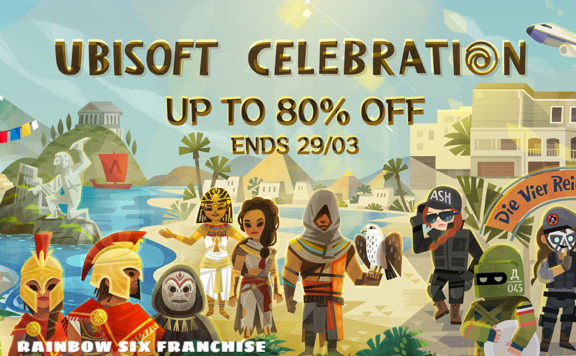 Ubisoft Games Are Currently on Sale in Steam