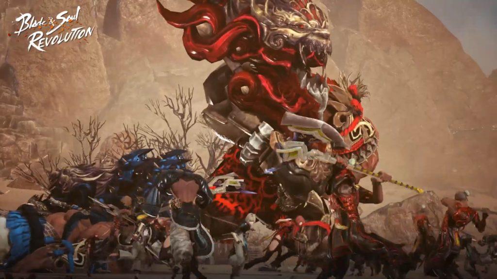 blade & Soul Revolution faction battle