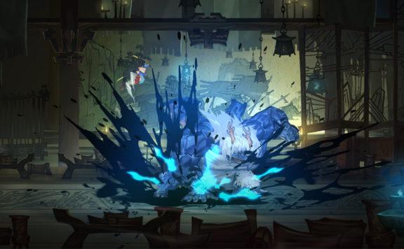 bladed fury console screenshot