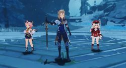 Genshin Impact Gets A PlayStation 5 Version characters prepare for boss encounter