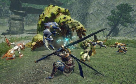 monster hunter rise ships 4 million units party screenshot