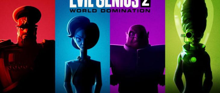 Evil Genius 2 - Voice Cast Announced