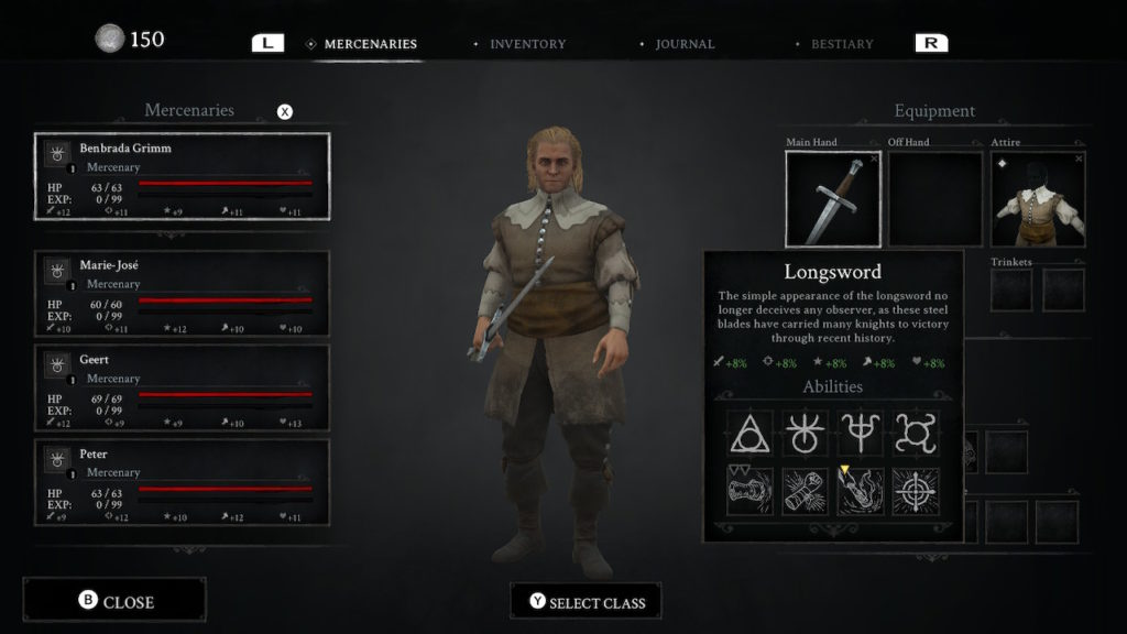 Black Legend Switch Character
