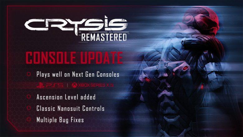 Crysis Remastered Got Next Gen Upgrade