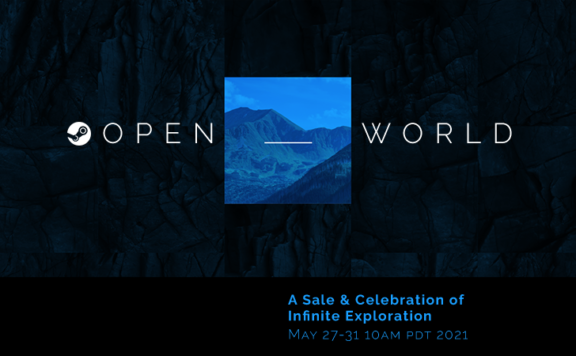 Prepare for Steam Open World Sale Coming in May